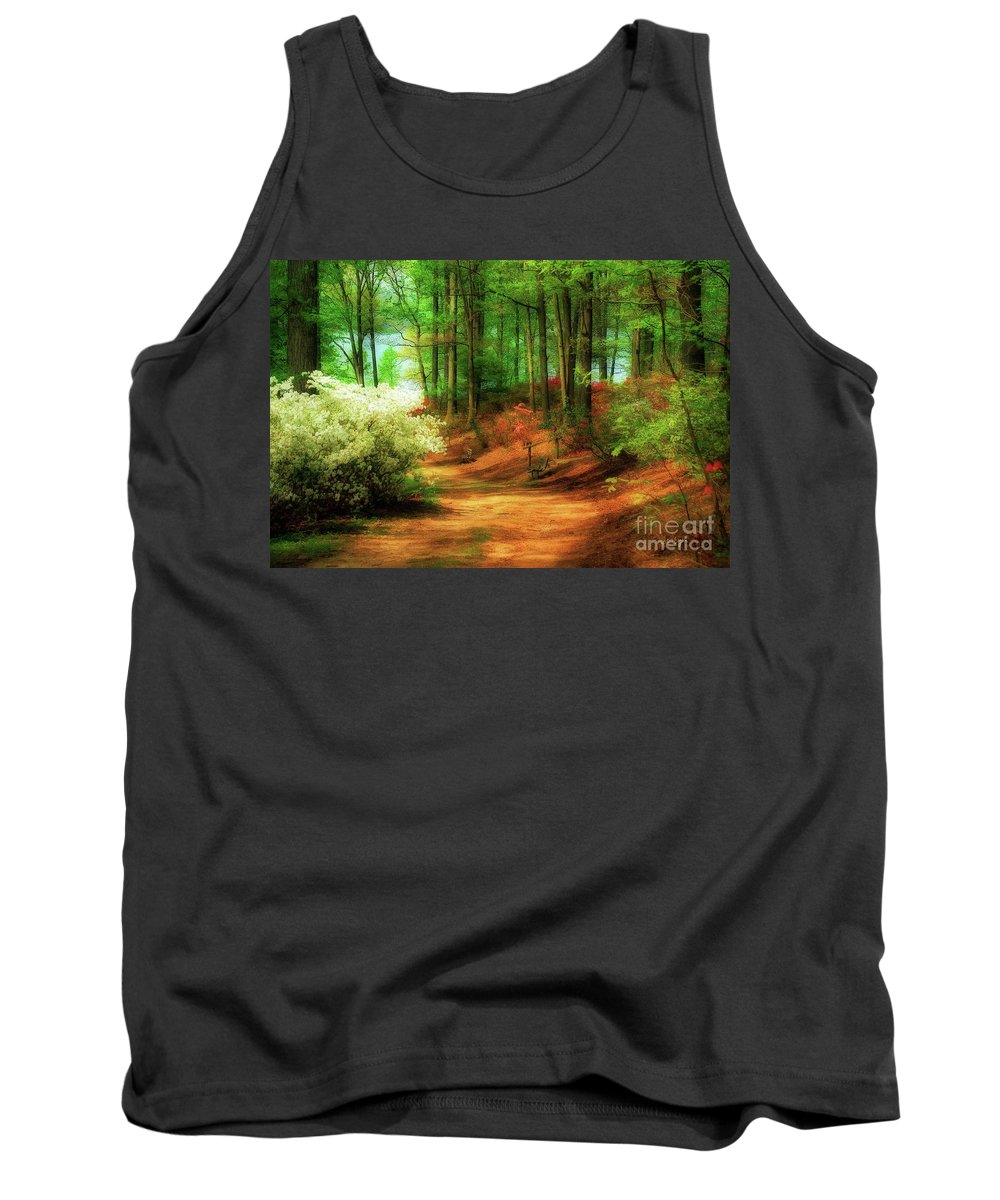Landscape Tank Top featuring the photograph Favorite Path by Lois Bryan