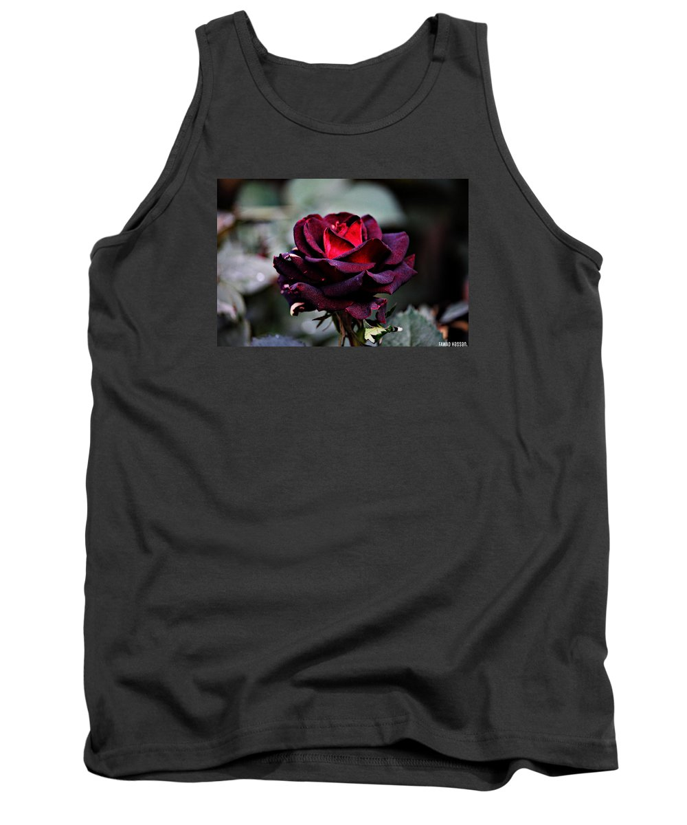 Creation Of Allah Almighty. Tank Top featuring the photograph Fawad. by Fawad Hassan