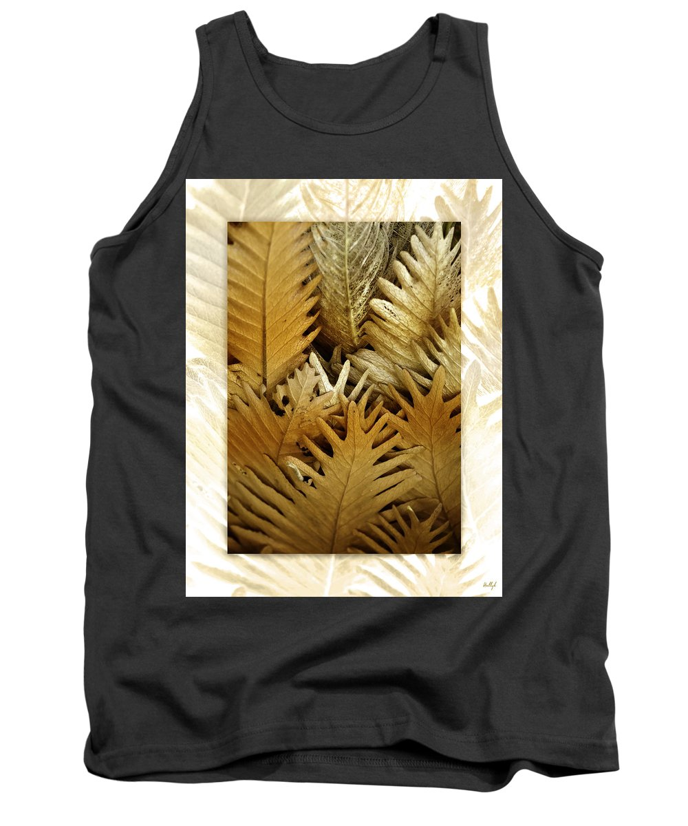 Florals Tank Top featuring the photograph Feeling Nature by Holly Kempe