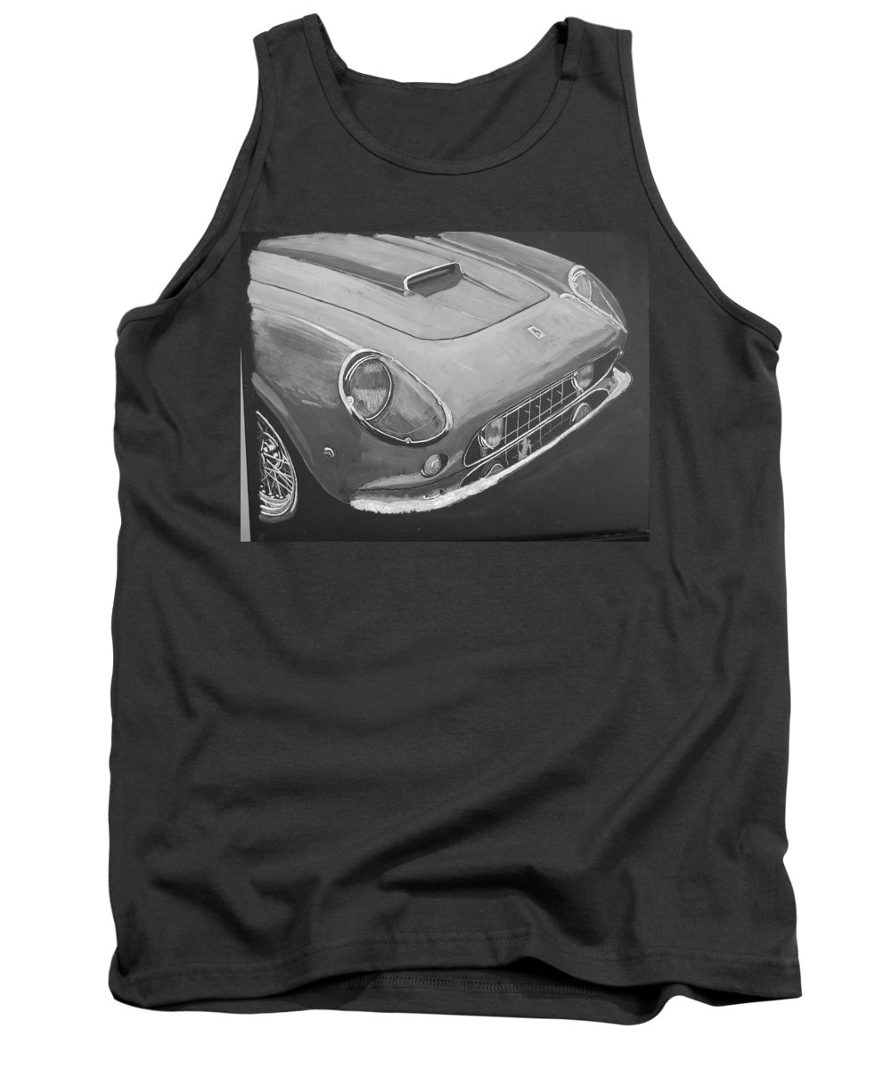 Car Tank Top featuring the painting Ferrari F250 California by Richard Le Page