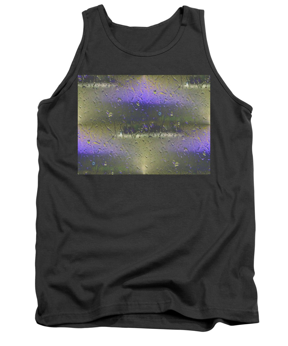 Seattle Tank Top featuring the photograph Ferry In The Fog by Tim Allen
