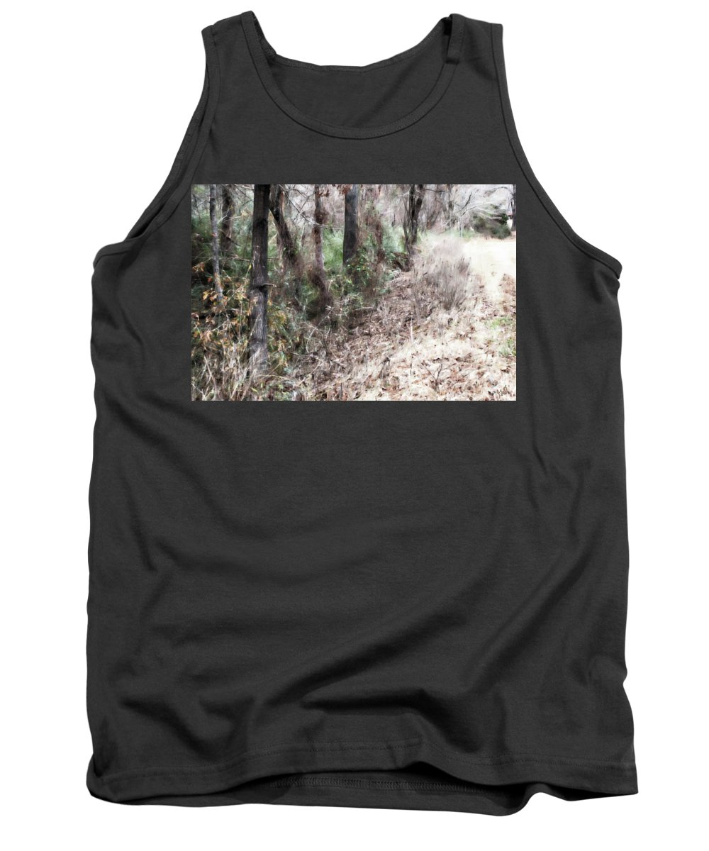 Field Tank Top featuring the photograph Field Meets Forest by Gina O'Brien