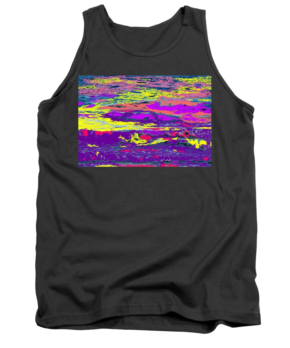 Ocean Tank Top featuring the photograph Fiery Passion by Ian MacDonald