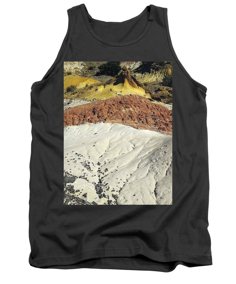 Sand Tank Top featuring the digital art File4893 Eliot Porter by Eloisa Mannion