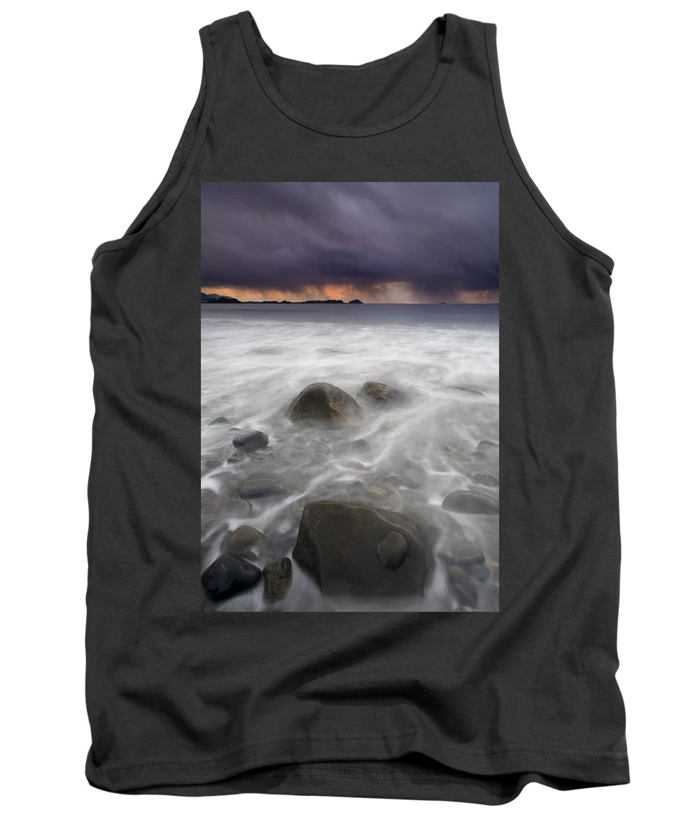 Storm Tank Top featuring the photograph Fingers Of The Storm by Mike Dawson