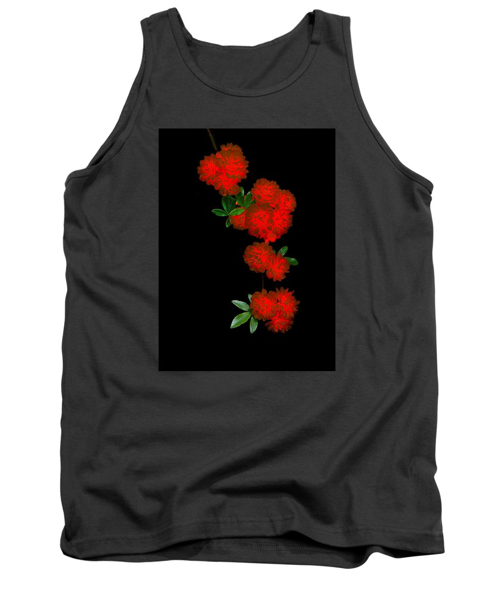 Nature Tank Top featuring the photograph Fire In Bloom 1.1 by Patrick O'Brien