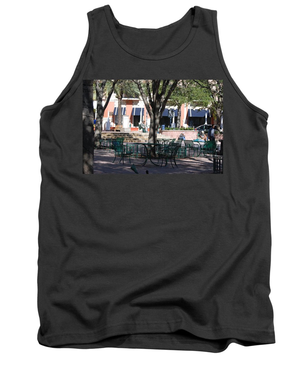 Park Tank Top featuring the photograph Flagler Park by Rob Hans