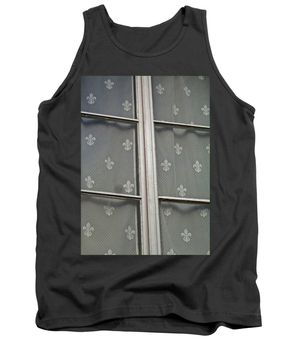 North America Tank Top featuring the photograph Fleur-de-lis by Juergen Weiss