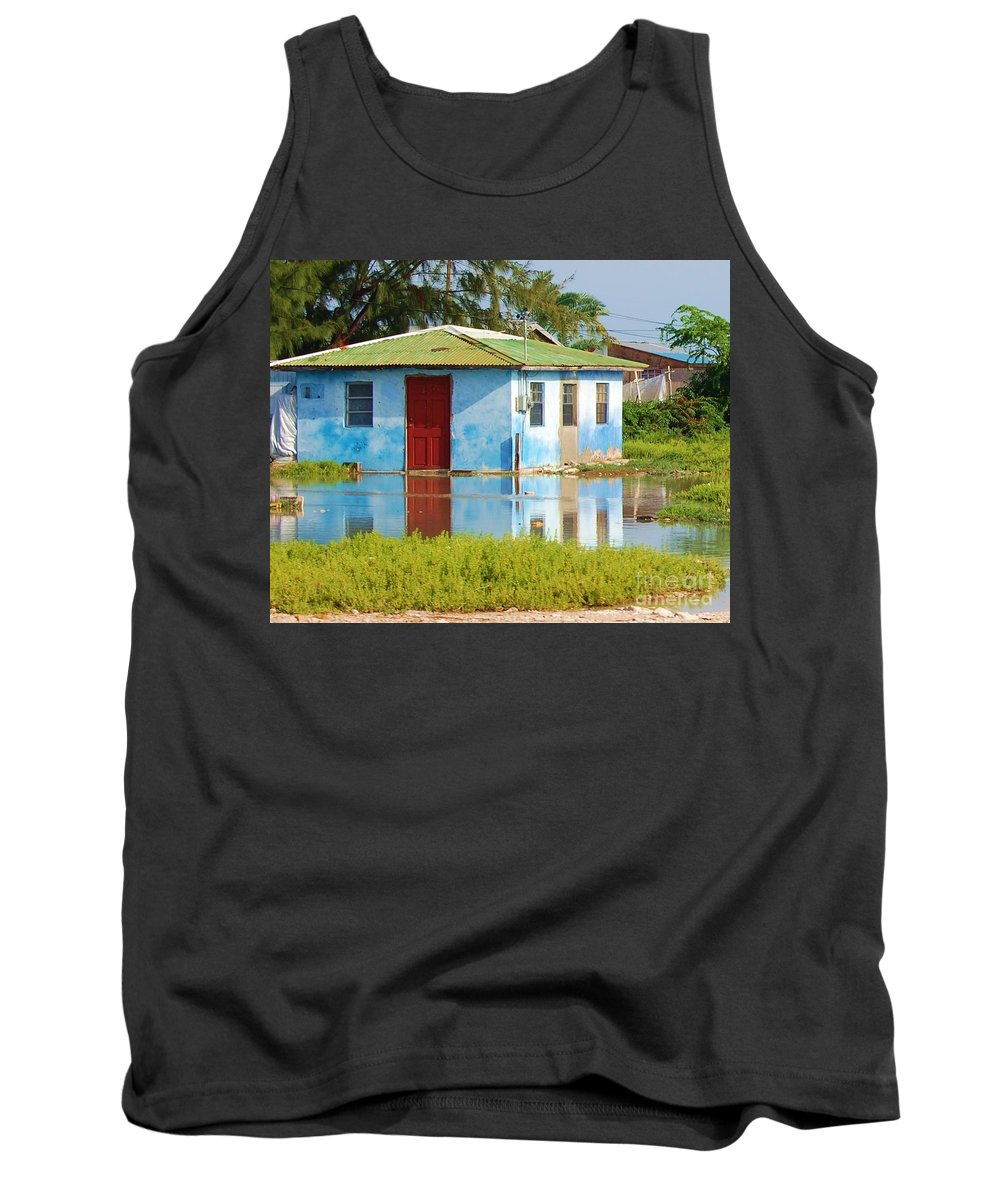 House Tank Top featuring the photograph Flooded Dreams by Debbi Granruth