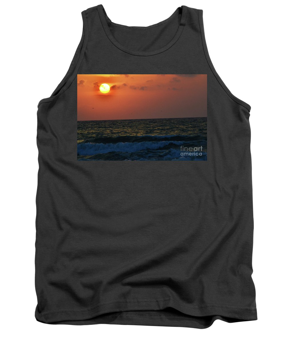 Florida Tank Top featuring the photograph Florida Sunset 1 by Kylee S