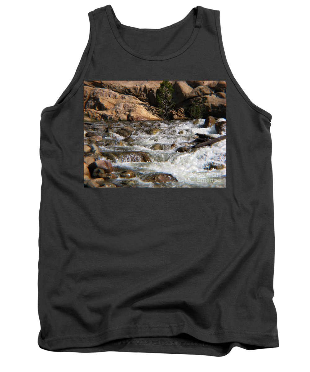 River Tank Top featuring the photograph Flow by Amanda Barcon