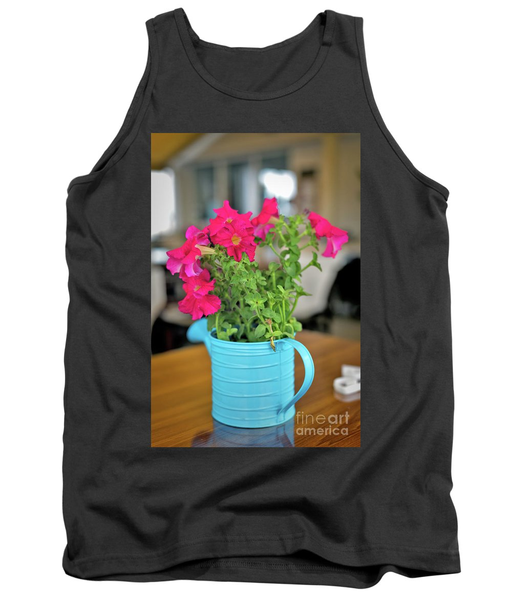 Flower Decoration By Ekaterina Molchanova Tank Top featuring the photograph Flower Decoration by Ekaterina Molchanova
