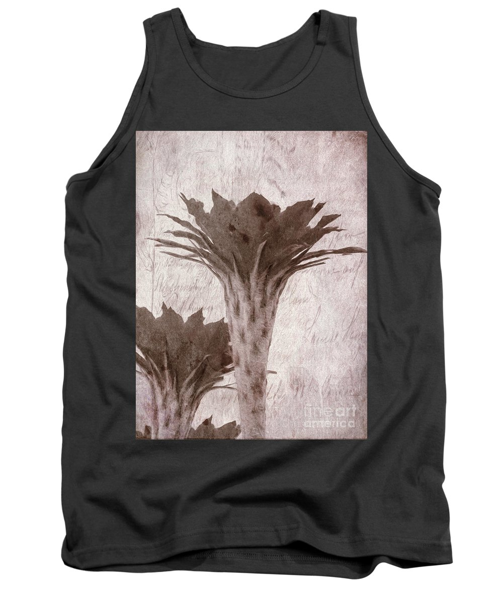 Flower Tank Top featuring the photograph Flower-g by Larry White