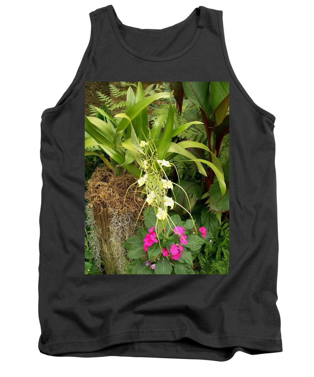 Flower Tank Top featuring the photograph Flower Mix by Amy Fose