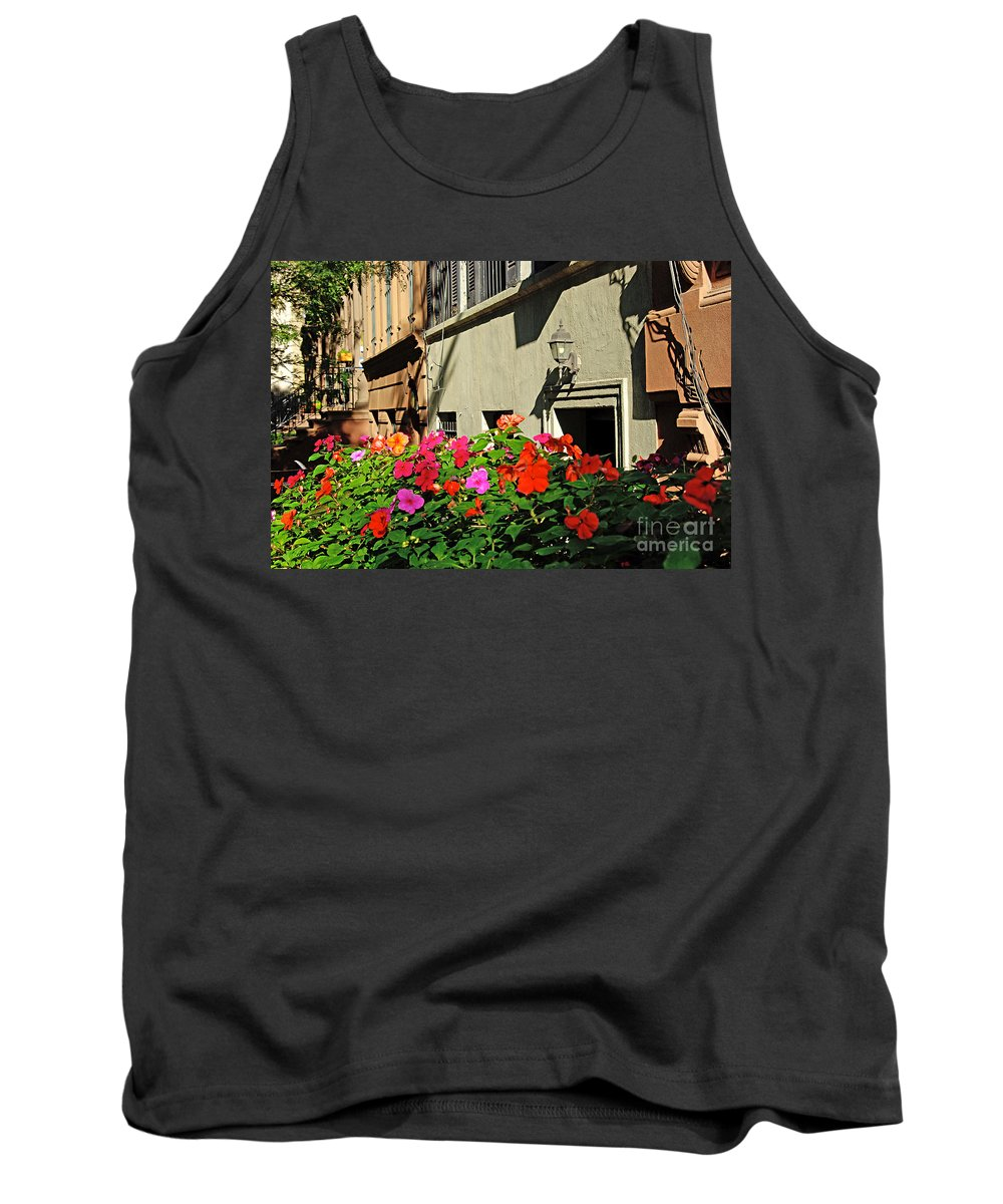 Flowers Tank Top featuring the photograph Upper West Side, New York by Zal Latzkovich