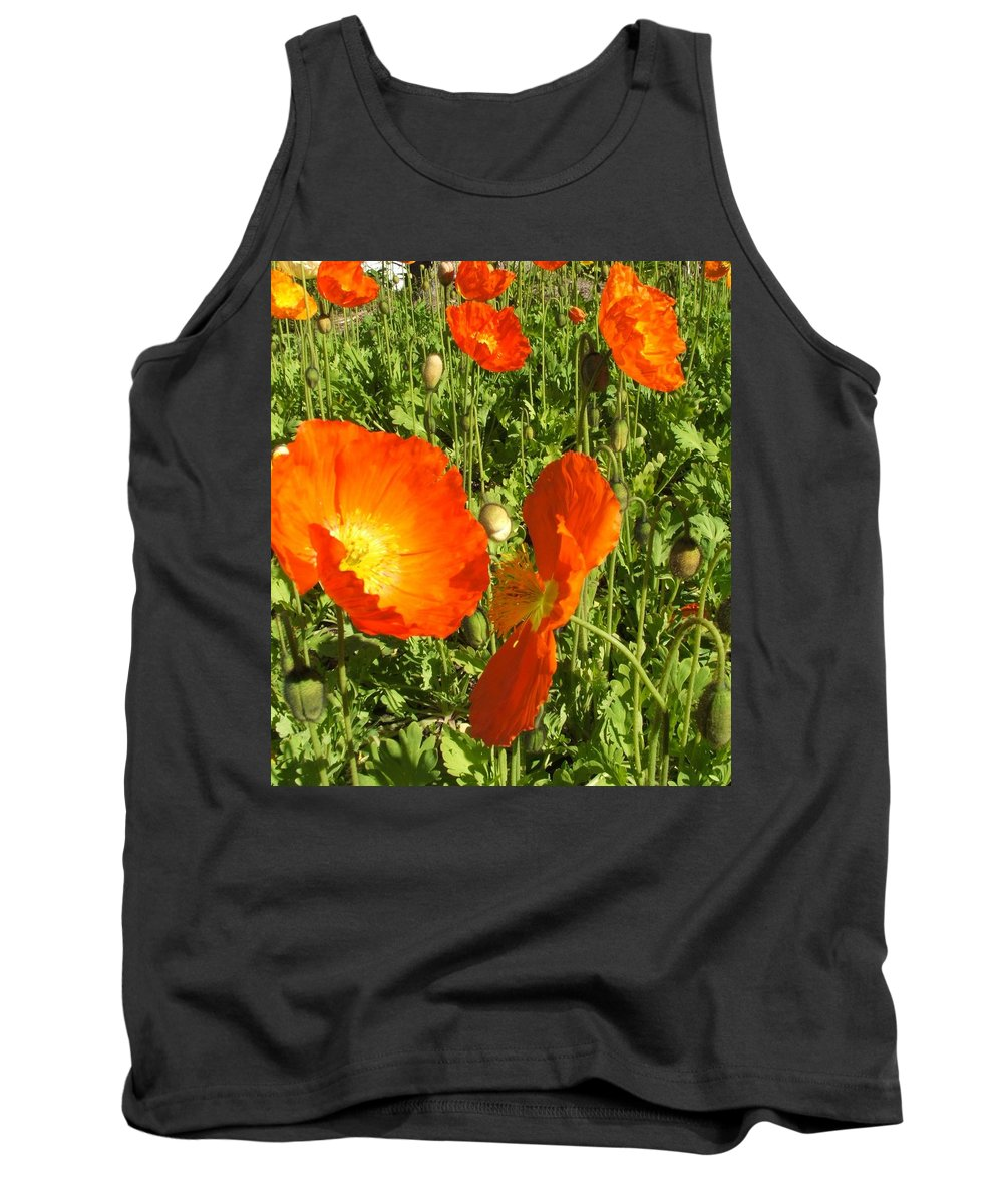 Flowers Tank Top featuring the photograph Flowers by Shari Chavira