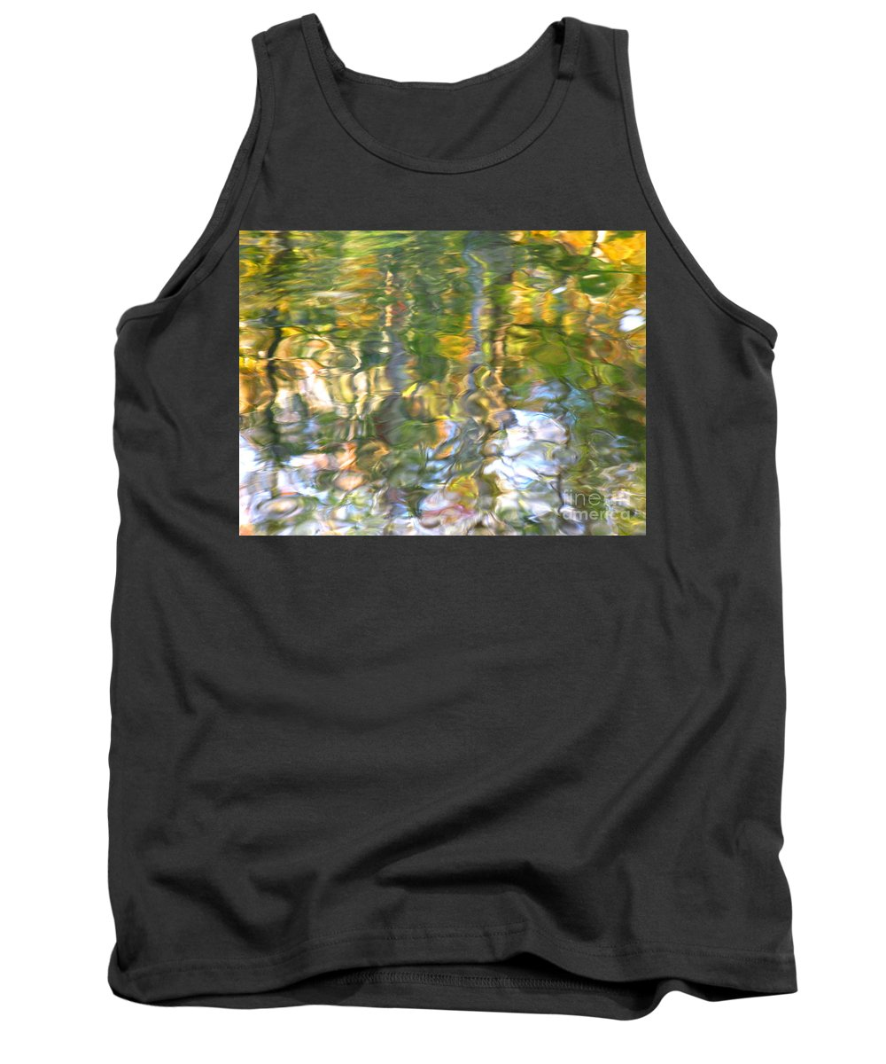 Water Art Tank Top featuring the photograph Fluctuations by Sybil Staples