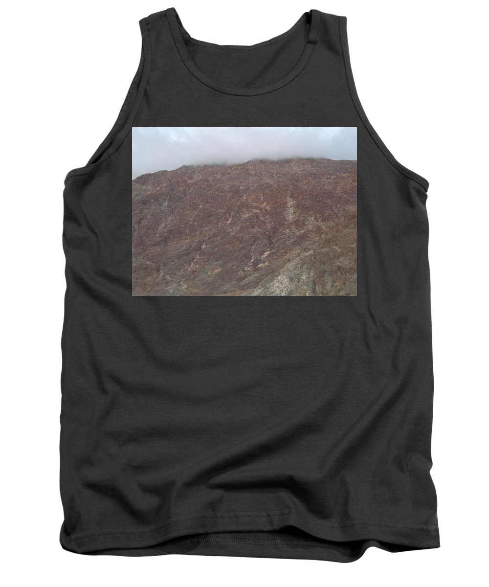 Arizona Photographs Tank Top featuring the photograph Fog Over The Hill by Robert Margetts
