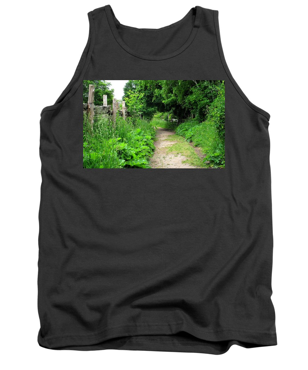 Path Tank Top featuring the photograph Follow by Ian MacDonald