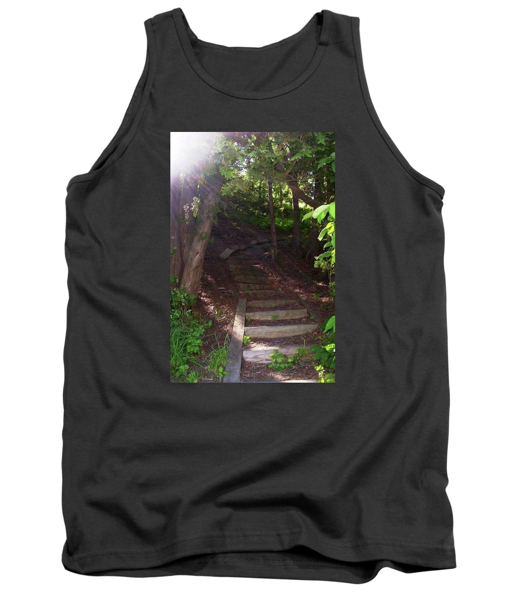 Path Tank Top featuring the photograph Follow Your Path by Rebecca Sturm