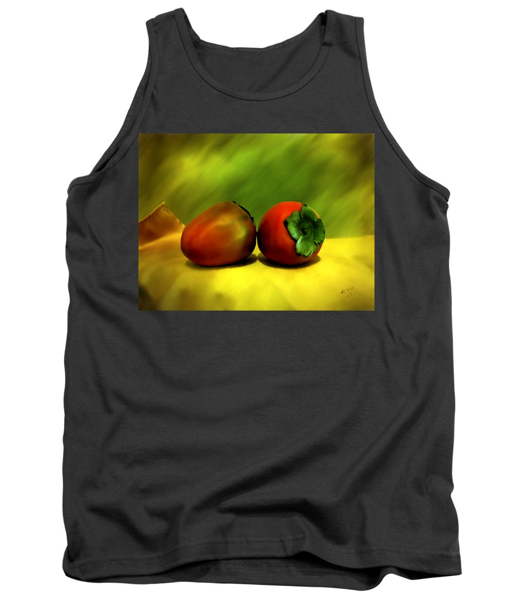 Still Life Tank Top featuring the photograph Food For The Gods by Kurt Van Wagner