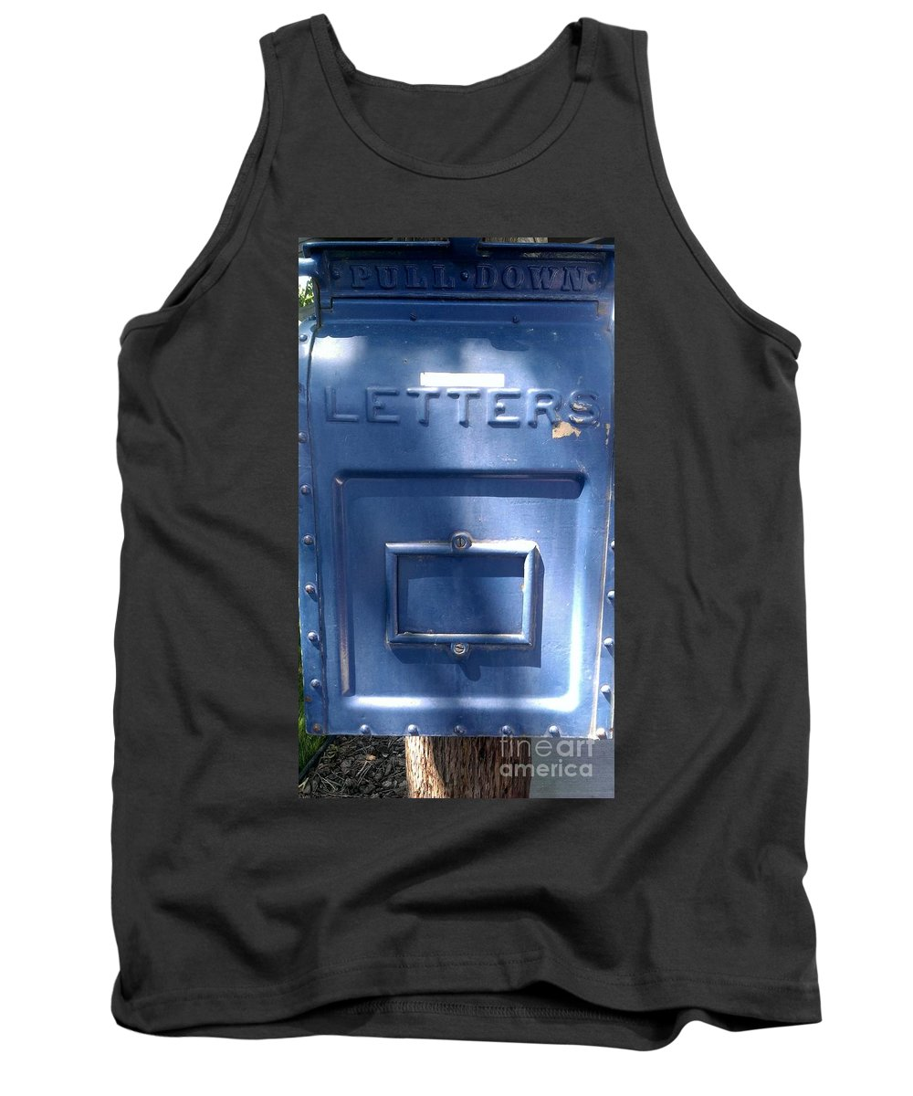 Postman Tank Top featuring the photograph For The Postman by LKB Art and Photography
