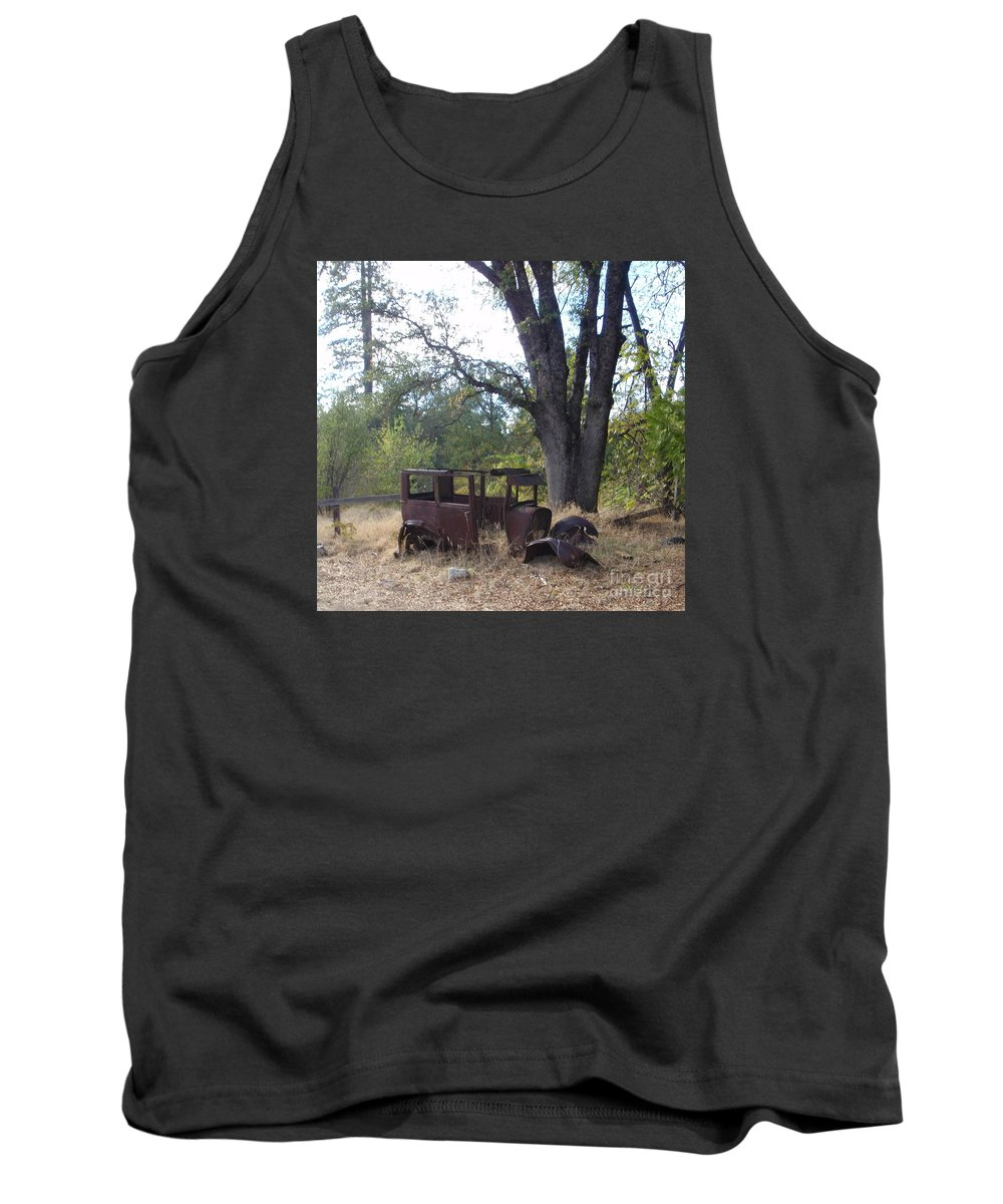 Ford Tank Top featuring the photograph Ford Model A by Mary Deal