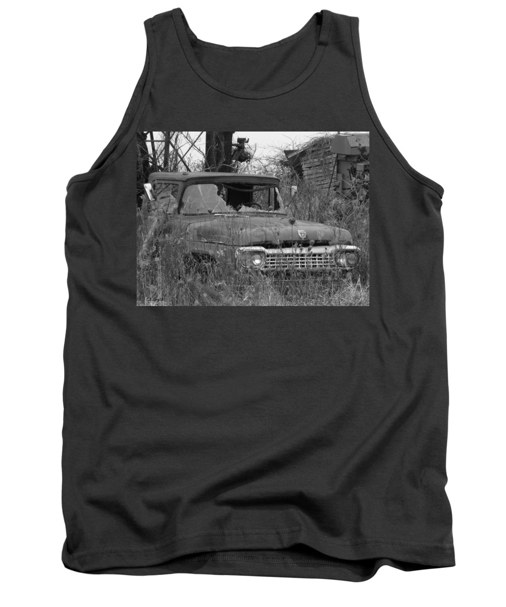 Ford Tough Tank Top featuring the photograph Ford Tough by Ed Smith