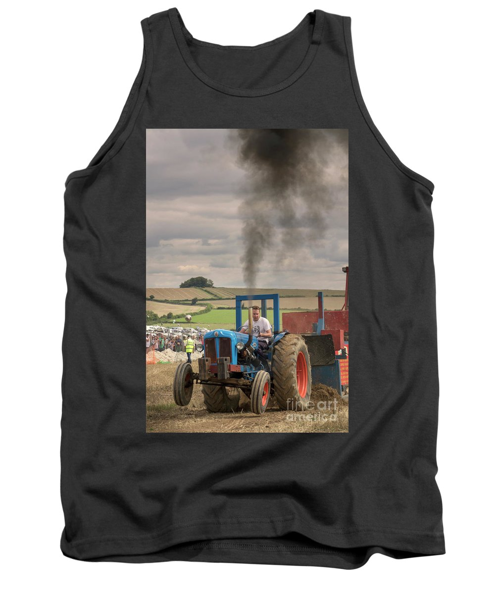 Tractor Tank Top featuring the photograph Fordson Power by Rob Hawkins