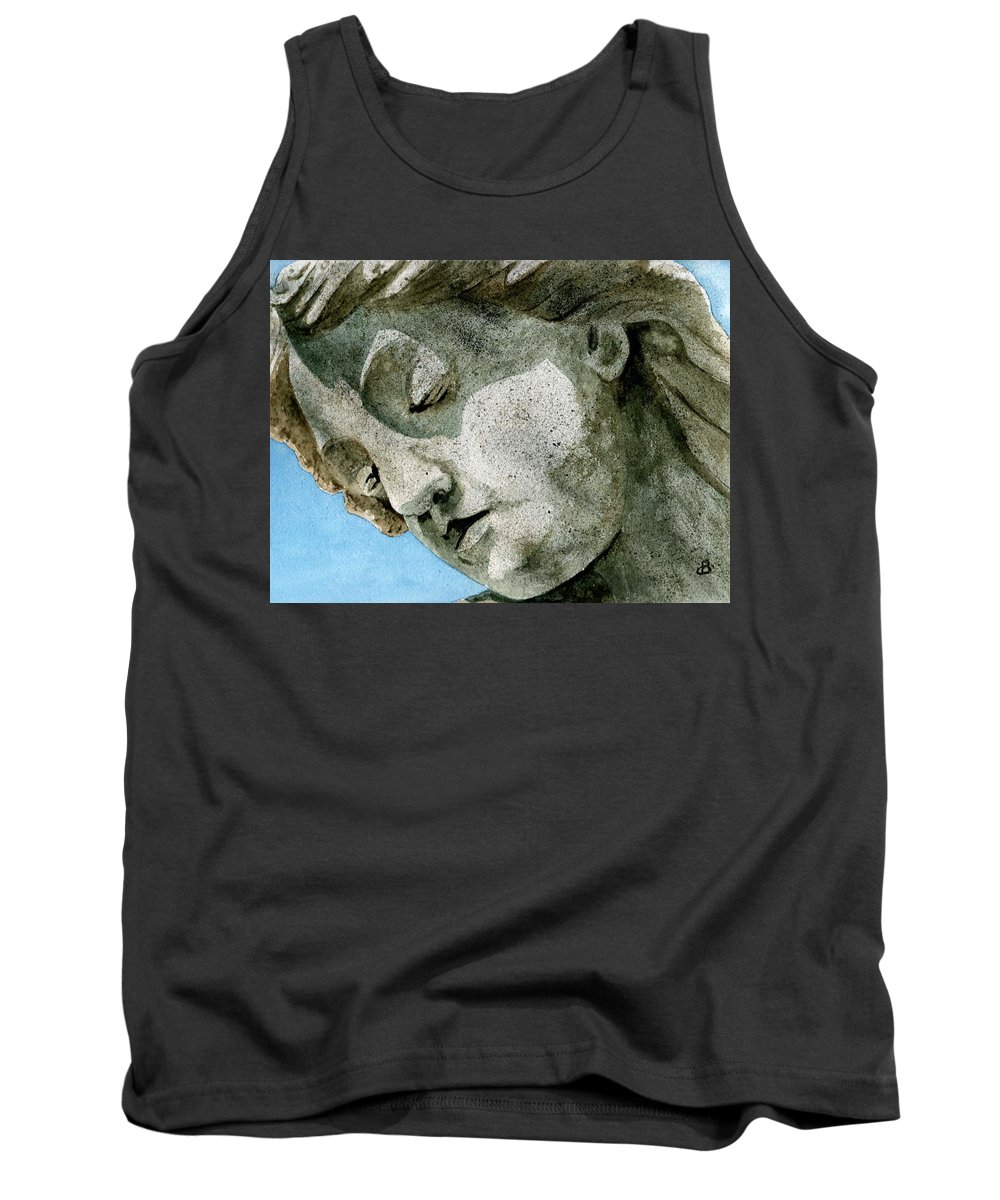 Woman Tank Top featuring the painting Forever Yours by Brenda Owen