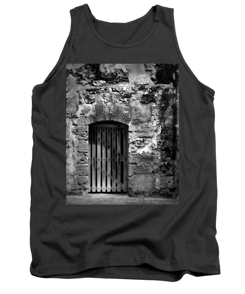 Fort Tank Top featuring the photograph Fort Doorway by Perry Webster
