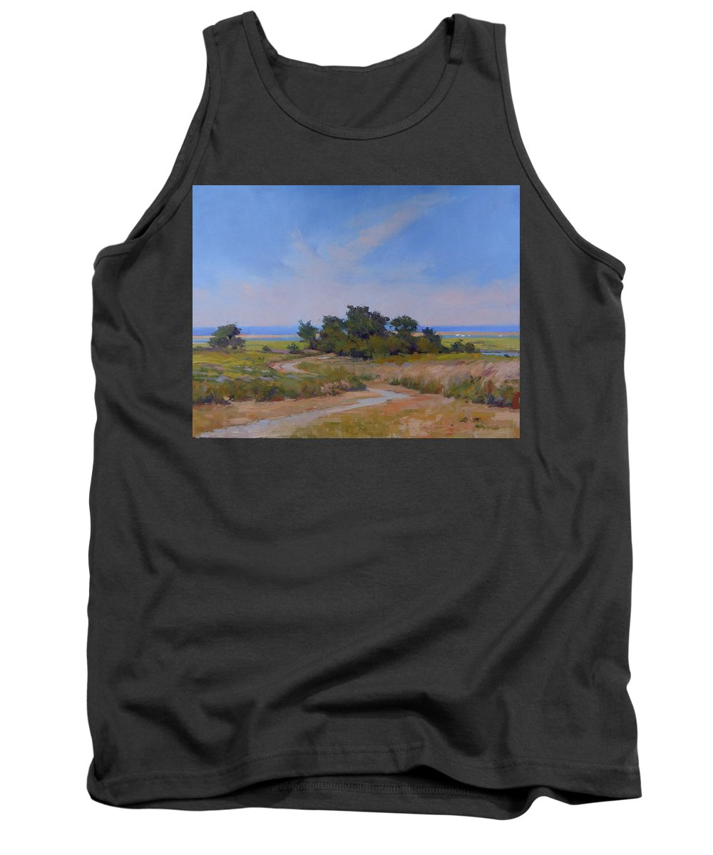 Fort Hill Tank Top featuring the painting Fort Hill by Dianne Panarelli Miller