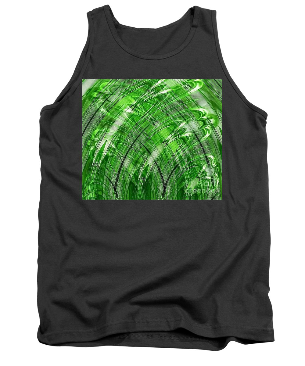 Abstract Tank Top featuring the photograph Fortress by Samantha Joseph