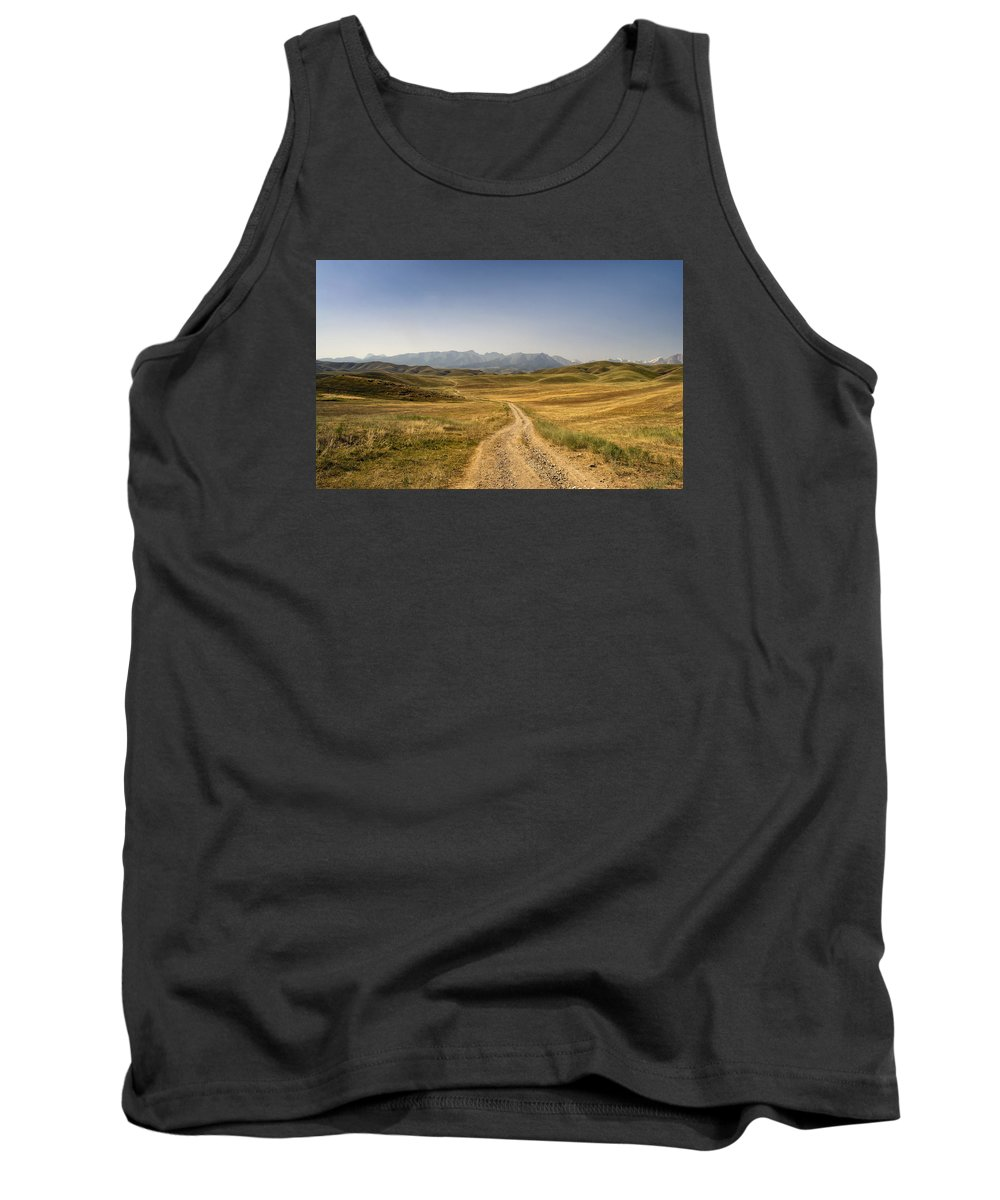 Mountain Tank Top featuring the photograph Forward And Upward by Alexey Kezin