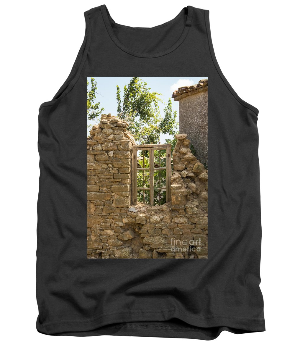 Tepekoy Tank Top featuring the photograph Framed Frame by Bob Phillips