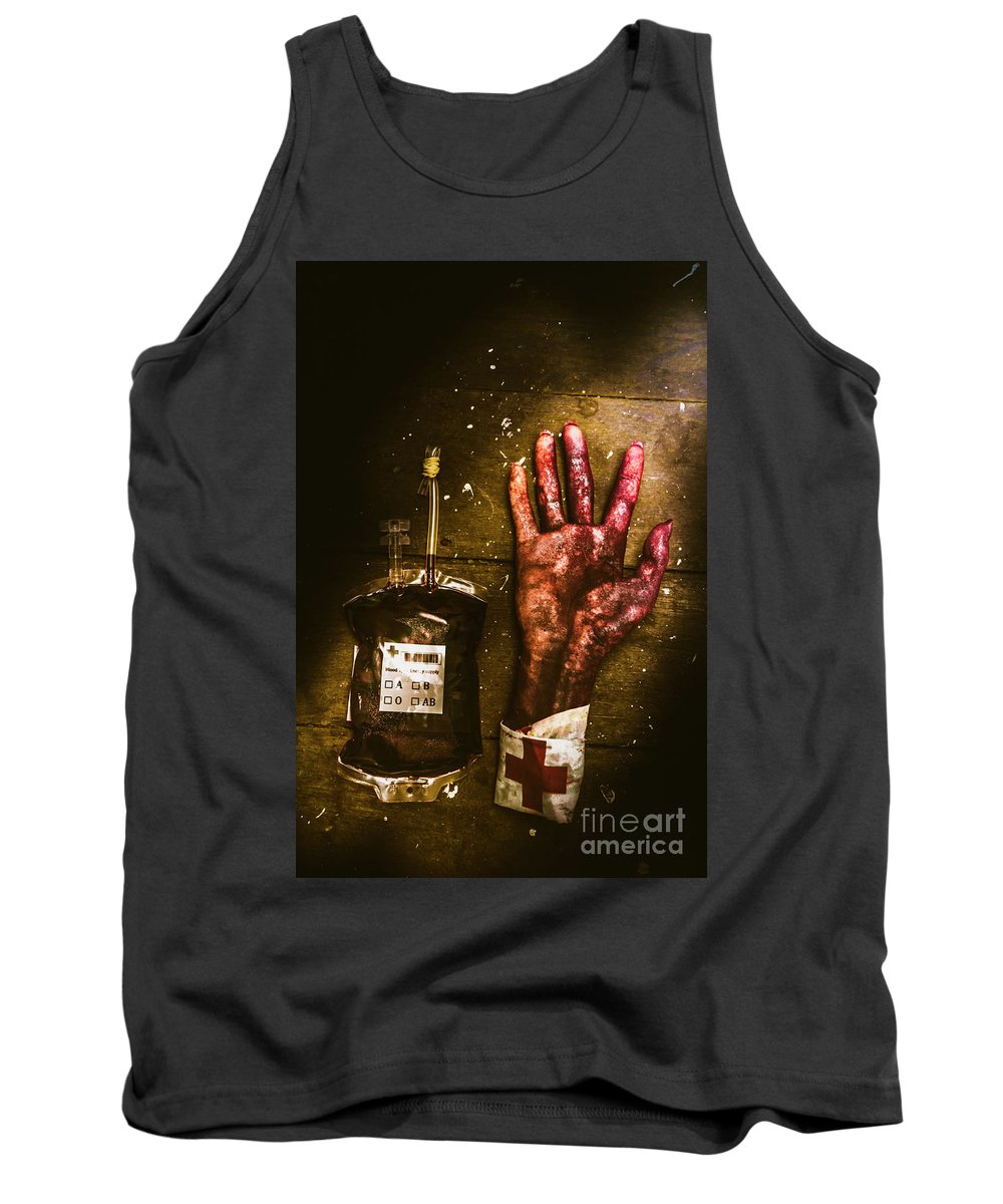 Severed Tank Top featuring the photograph Frankenstein Transplant Experiment by Jorgo Photography - Wall Art Gallery