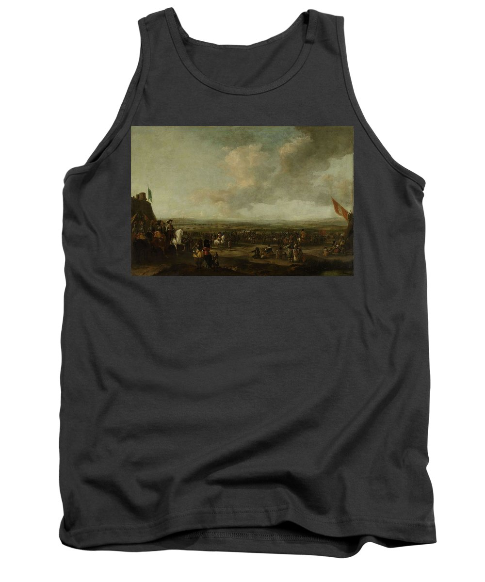 Nature Tank Top featuring the painting Frederick Henry At The Surrender Of Maastricht 22 August 1632 Manner Of Pieter Wouwerman 1633  1 by Frederick Henry