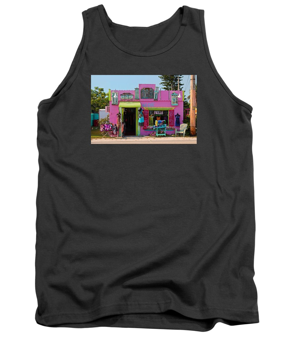 Frills Tank Top featuring the photograph Frills Gallery by Michiale Schneider