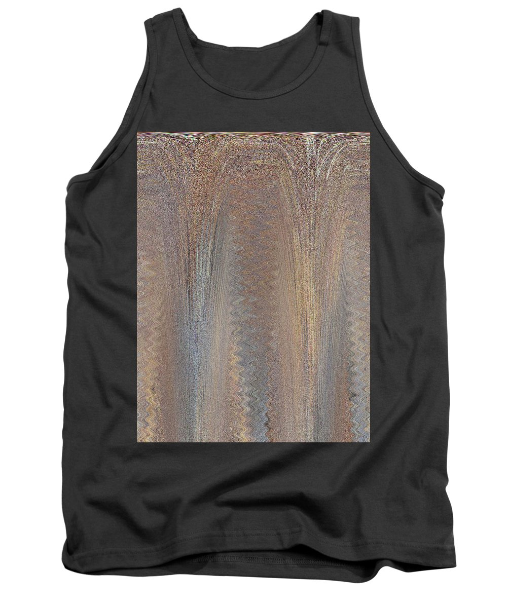 Abstract Tank Top featuring the digital art From The Top by Tim Allen
