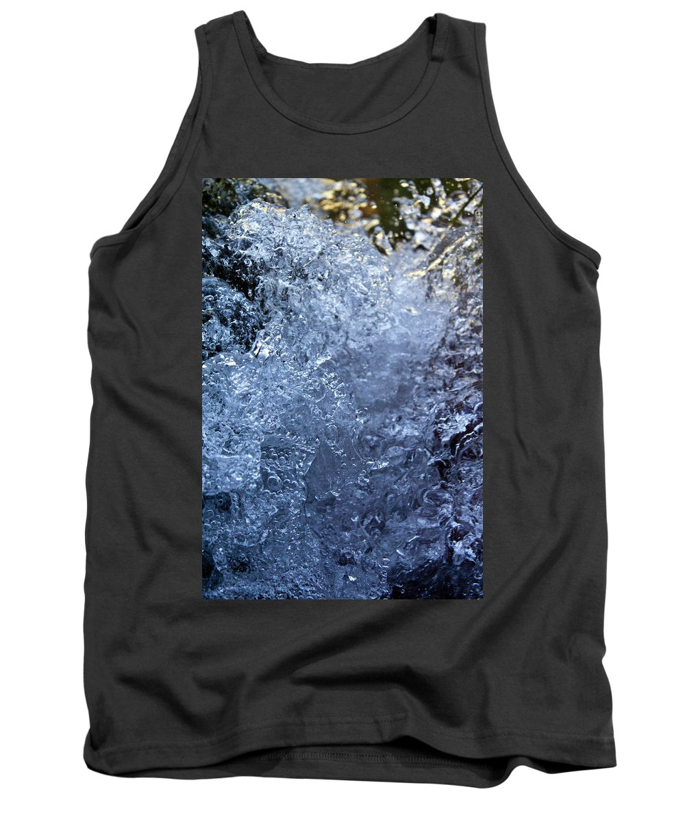 Nature Tank Top featuring the photograph Frozen by Daniel Csoka