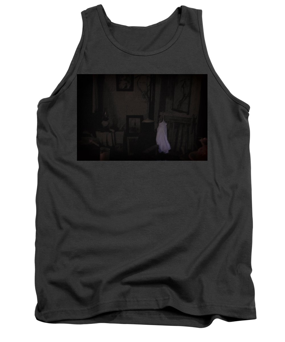 Nightie Tank Top featuring the photograph Frozen In Time by Everything Morbid Photography
