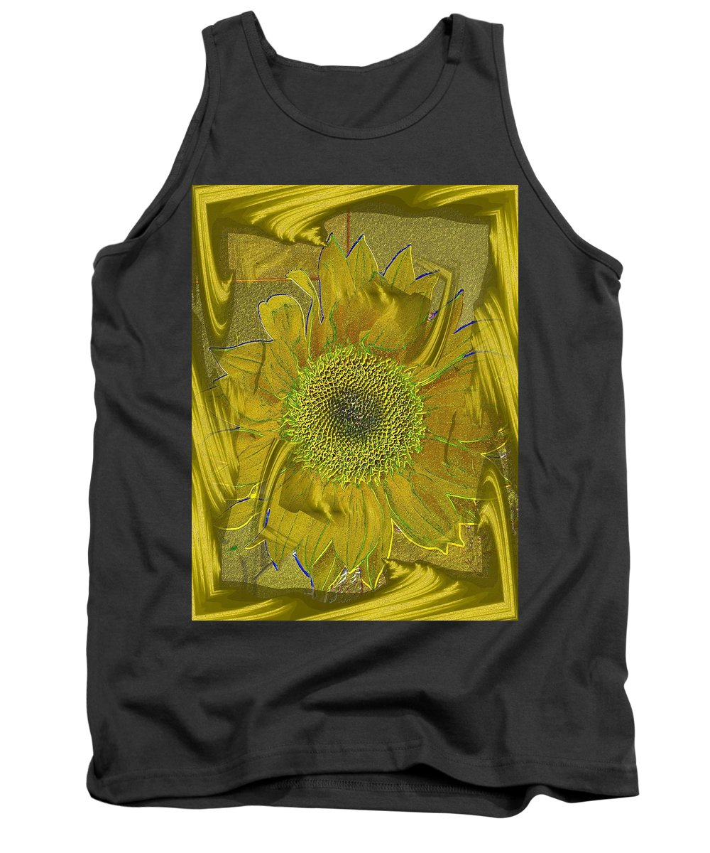 Flower Tank Top featuring the photograph Fulfillment by Tim Allen