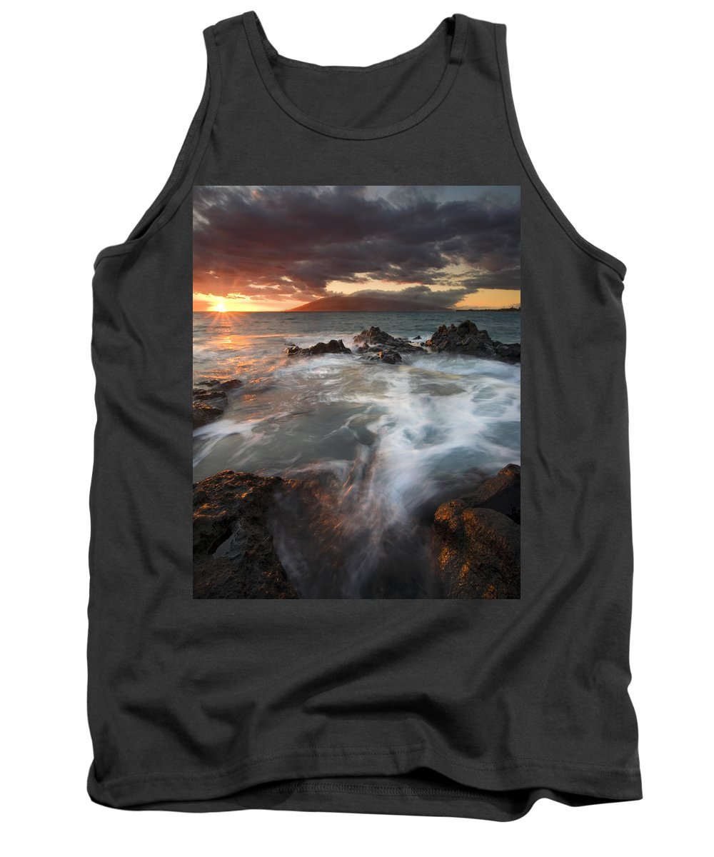 Cauldron Tank Top featuring the photograph Full To The Brim by Mike Dawson