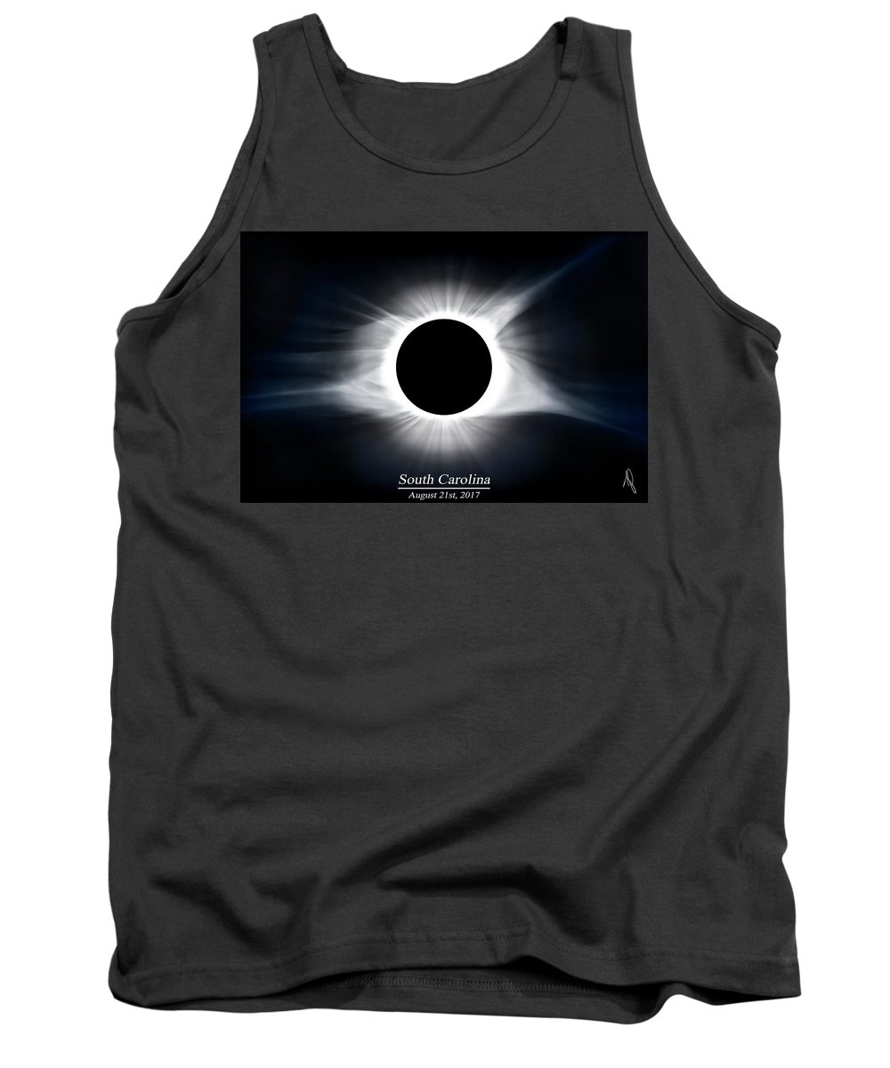2017 Tank Top featuring the photograph Full Totality by Ryan Feeley