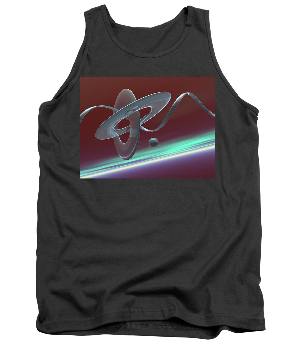 Cott Piers Tank Top featuring the photograph G46t by Scott Piers