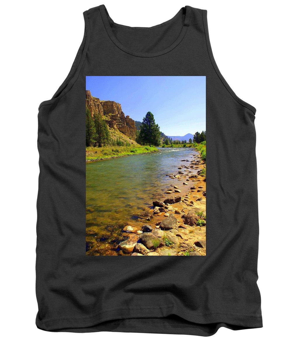 Gallitan River Tank Top featuring the photograph Gallitan River 1 by Marty Koch
