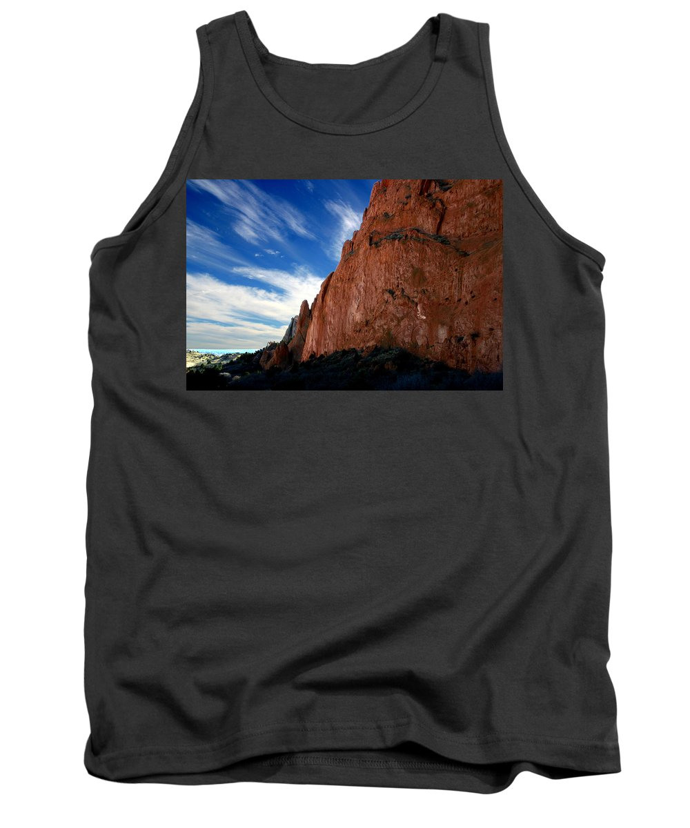 Garden Of The Gods Tank Top featuring the photograph Garden Of The Gods by Anthony Jones