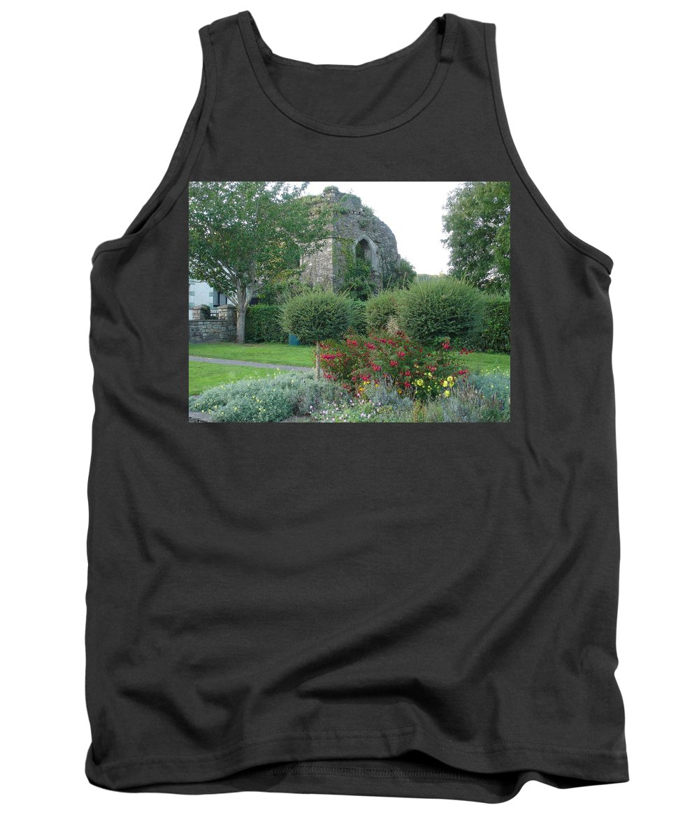 Inistioge Tank Top featuring the photograph Garden Path by Kelly Mezzapelle