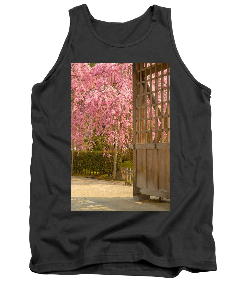 Japan Tank Top featuring the photograph Gate by Sebastian Musial