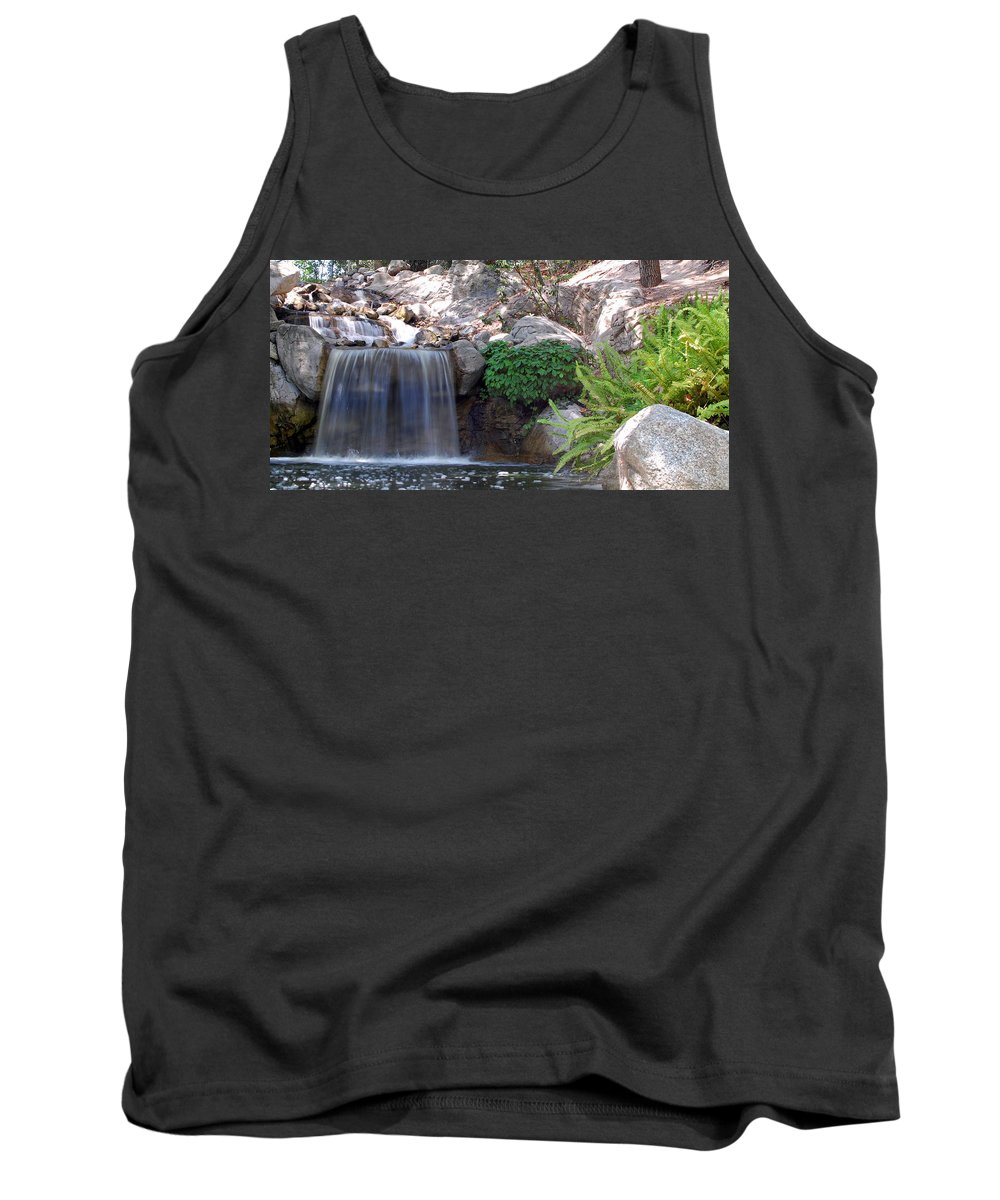 Water Tank Top featuring the photograph Gentle Waterfall by Amy Fose
